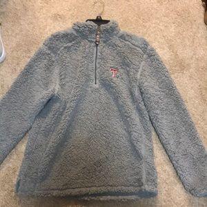 fuzzy half zip